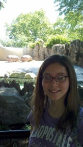 Me as a meat-eater at the Philadelphia zoo in 2011.