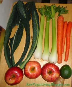 sweet green kale apple juice ingredients