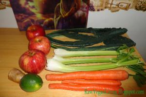 green kale apple juice
