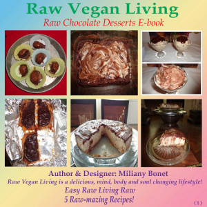 raw vegan living raw chocolate desserts e-book cover