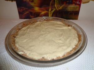 coconut poppy seed banana ice cream pie
