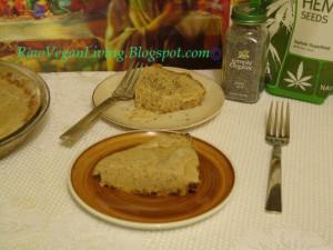 pie banana coconut poppy seed