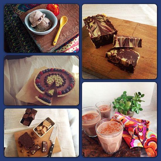 lauren amerson food collage