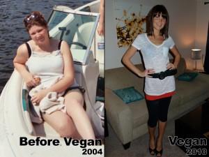 Megan Elizabeth before and after