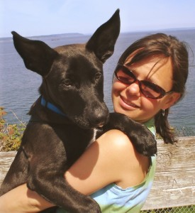 bethanne wanamaker and her dog