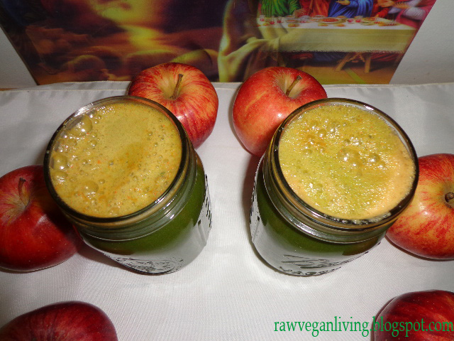green apple ginger lime juice