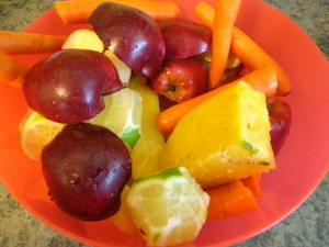 pineapple carrot lime apple juice ingredients