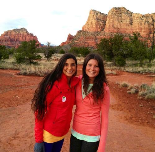 Kristina Bucaram and Megan Elizabeth