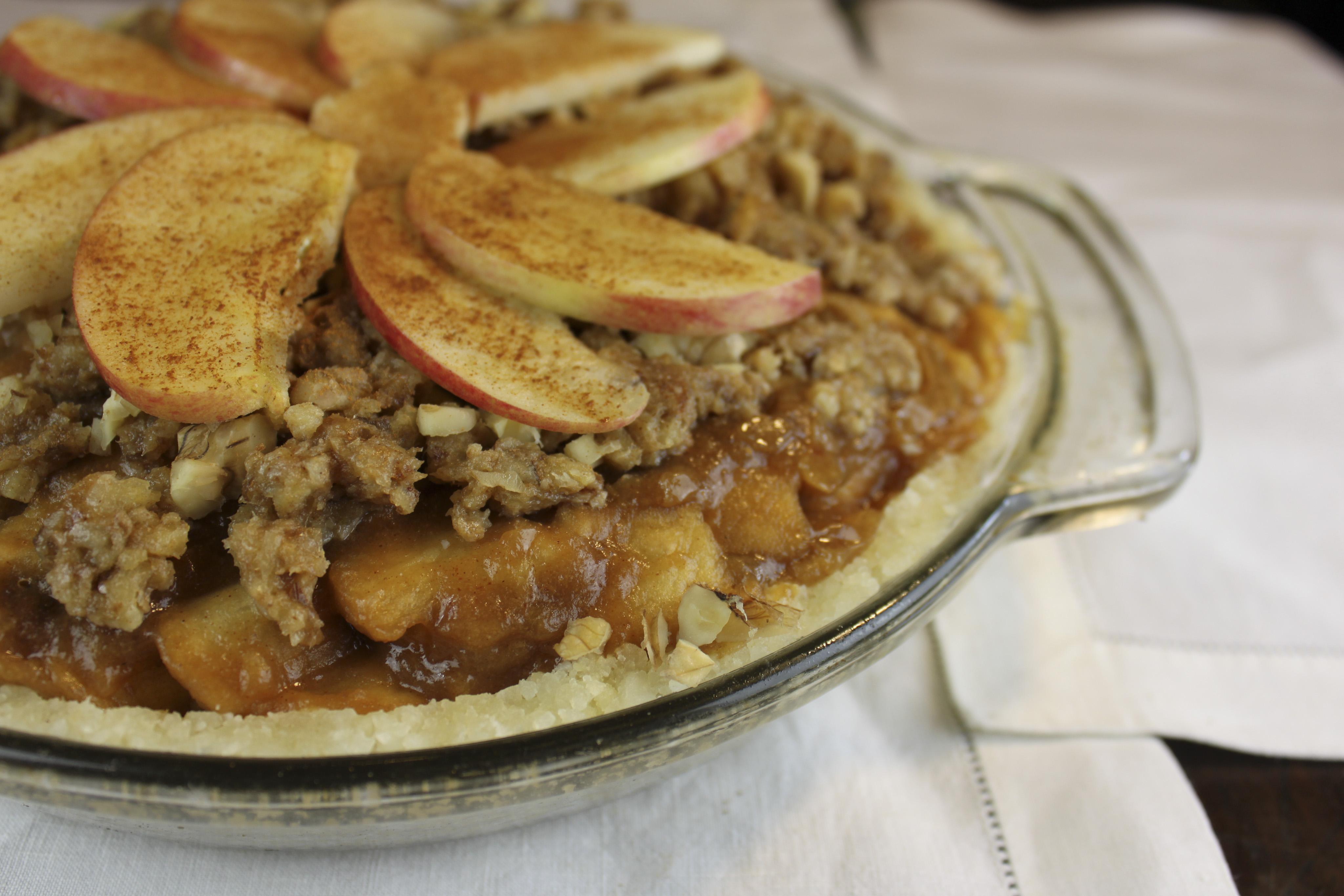 new fashion raw apple pie