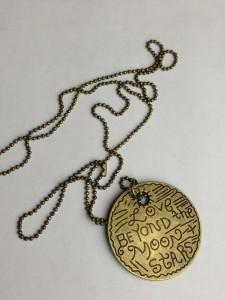 mimi kirk LIVE RAW AROUND THE WORLD necklace