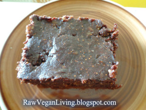 real raw brownie
