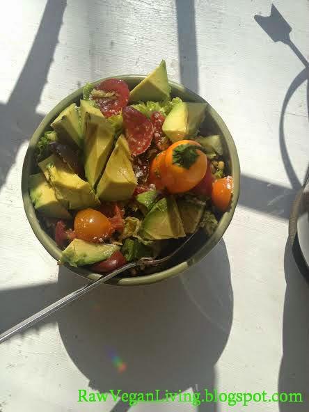 raw vegan vegge chili