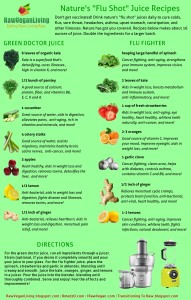 nature's shot juice recipes