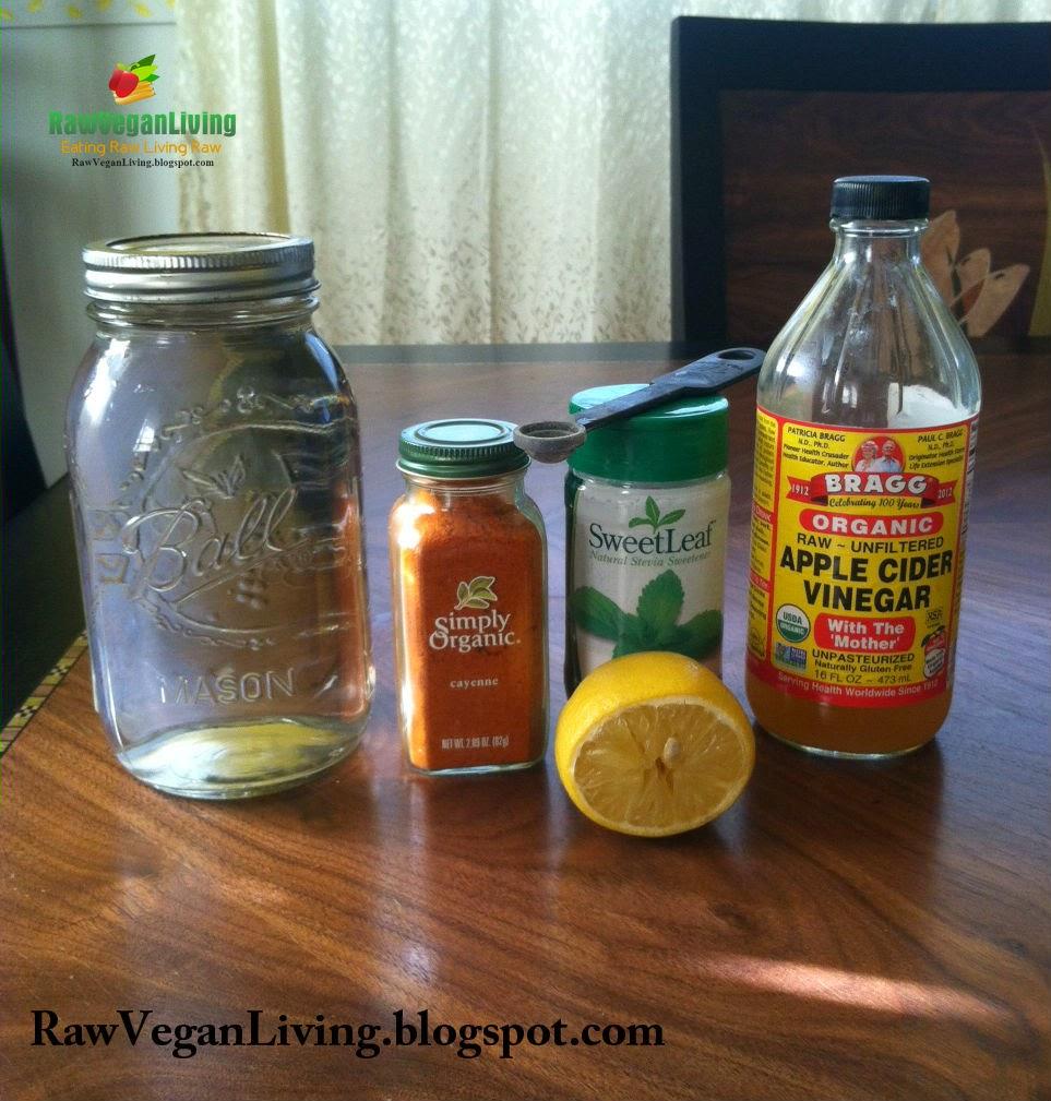 daily morning detox elixir ingredients