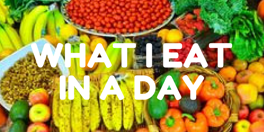 what I eat in a day thumbnail