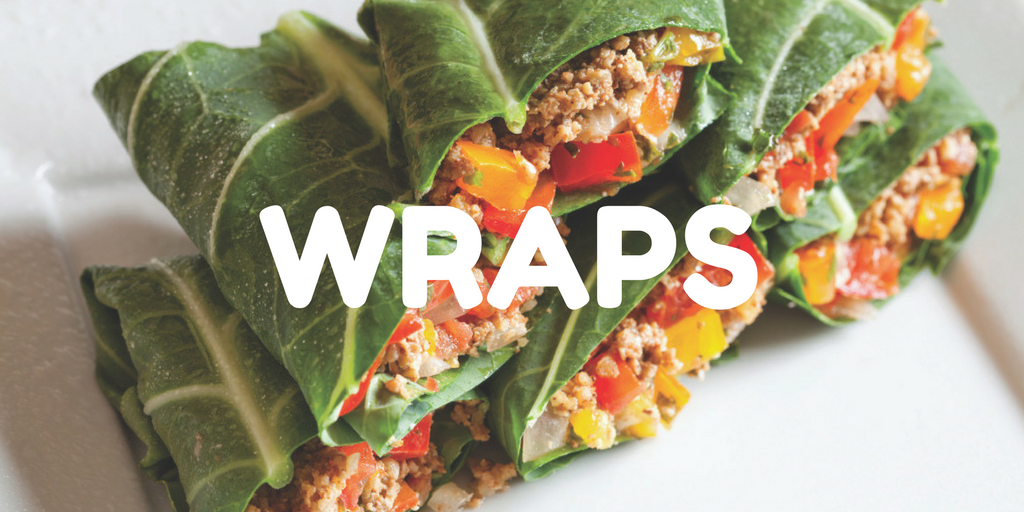 raw vegan wraps