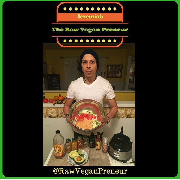 raw vegan preneur jeremiah bonet raw pure living salad