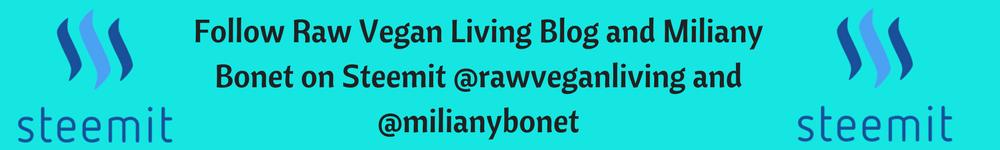 rawveganliving steemit banner