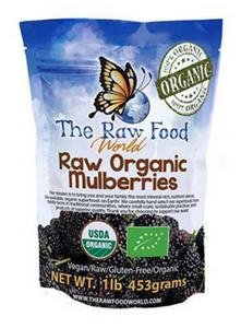 Organic White Turkish Mulberries