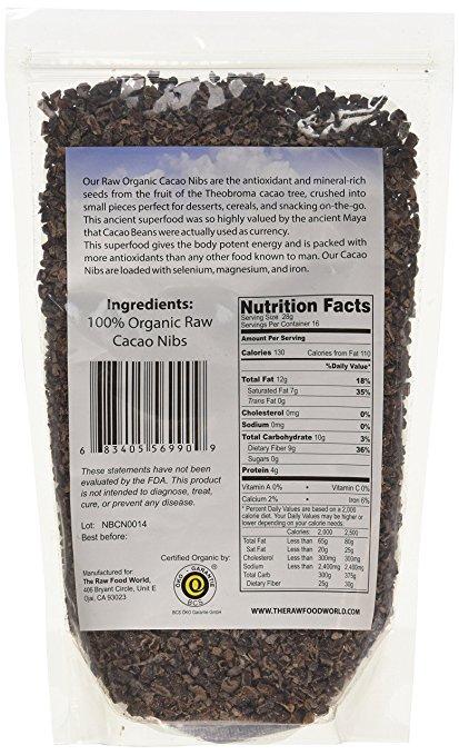 Raw Organic Cacao Nibs 1