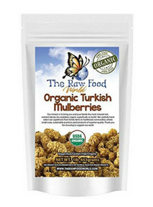 Raw Organic Sun Dried Mulberries